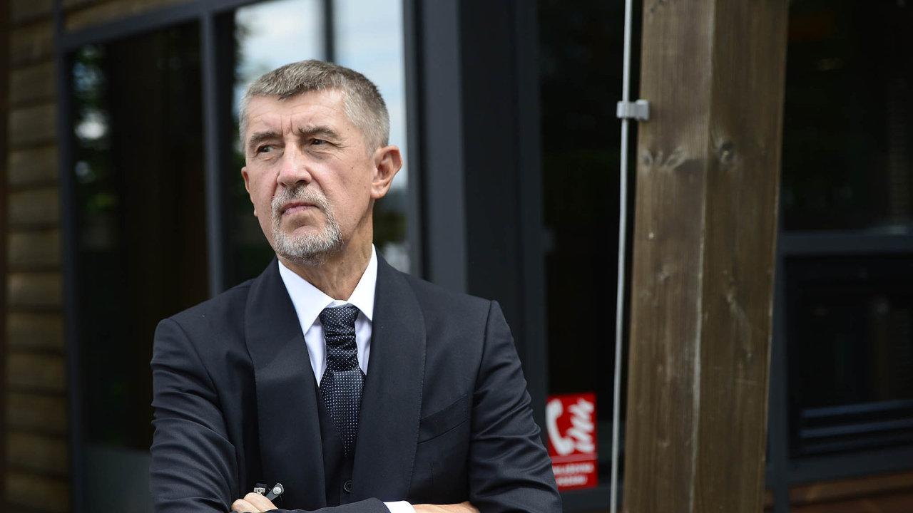 Andrej Babiš považuje své zproštění mlčenlivosti v kauze FAU za provokaci.