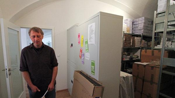 Jáchym Topol je už několik let programovým ředitelem Knihovny Václava Havla v Praze (na snímku).