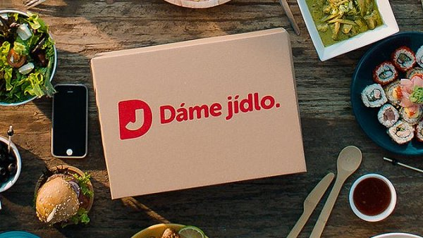 Nové logo Dáme jídlo