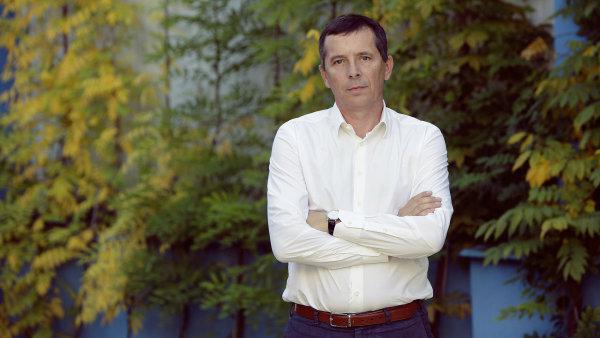 Šéf Bidfoodu Bohumil Volf