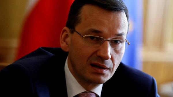 Dosavadní vicepremiér a ministr financí a rozvoje, exbankéř Mateusz Morawiecki, by se mohl stát novým polským premiérem.