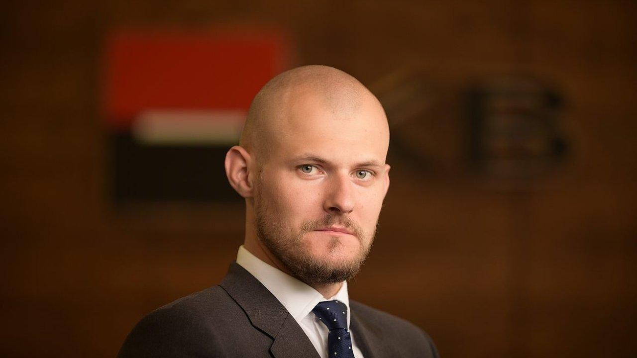 Ekonom Komerční banky Marek Dřímal