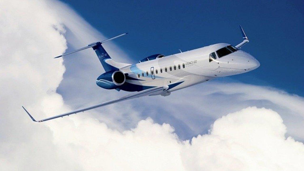 Letadlo. Ilustrační obrázek