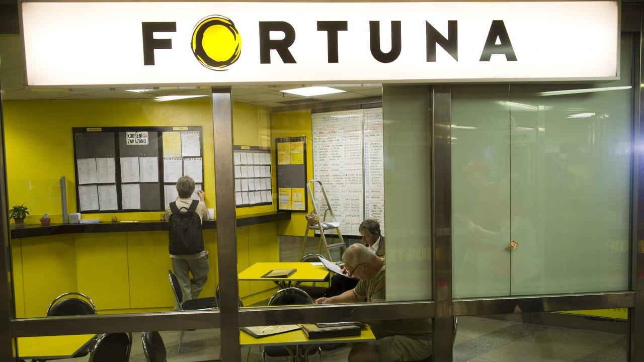 Pobočka sázkové kanceláře Fortuna – Ilustrační foto.