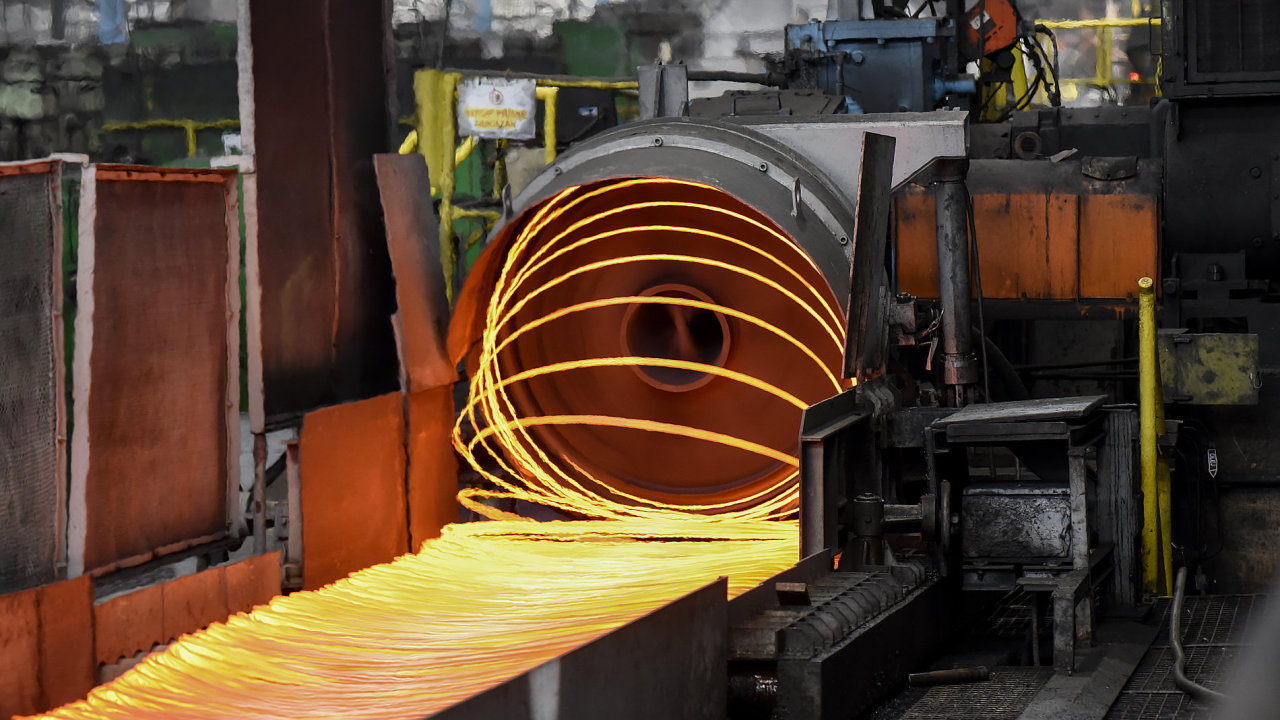ArcelorMittal Ostrava a.s. hutní komplex.  15.3.2018  Foto Petr Dohnal