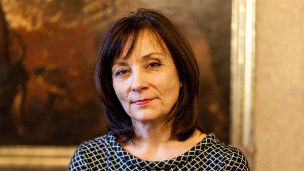 Ředitelka Národního památkového ústavu Naděžda Goryczková