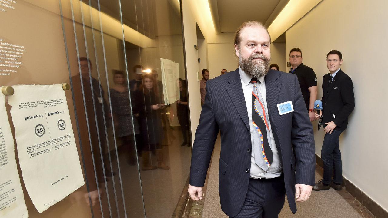 Žalobce Jaroslav Šaroch (na archivním snímku) z Městského státního zastupitelství v Praze (MSZ), který dohlíží na kauzu Čapí hnízdo.