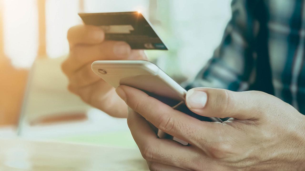 Změna v pravidlech pro placení kartou na internetu má přinést větší bezpečnost, ne všichni ale jásají (ilustrační snímek).