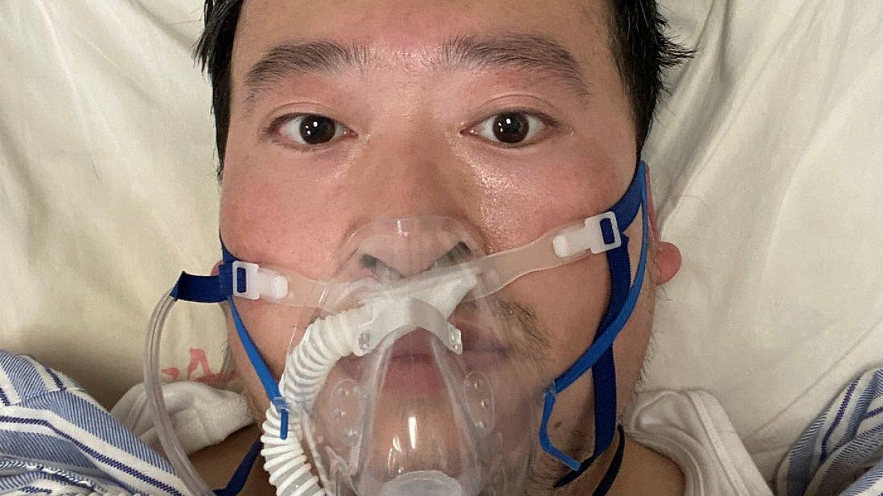 Li Wen-liang v nemocnici.