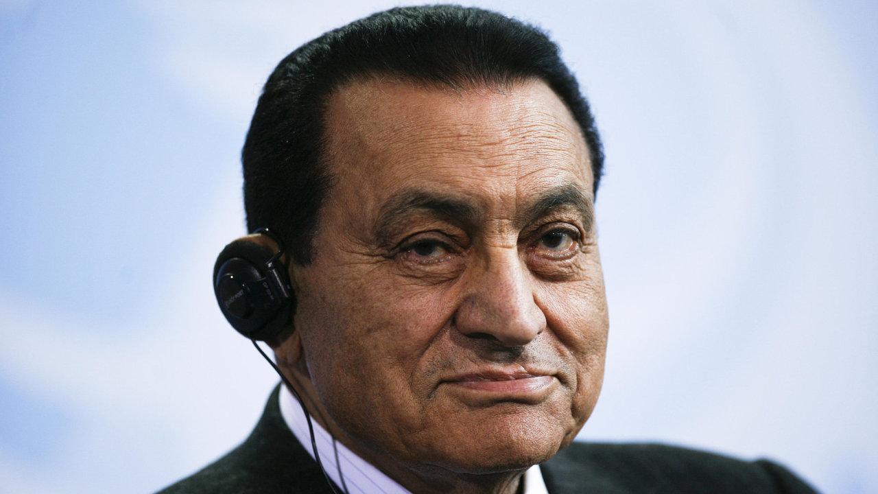 Husní Mubárak.