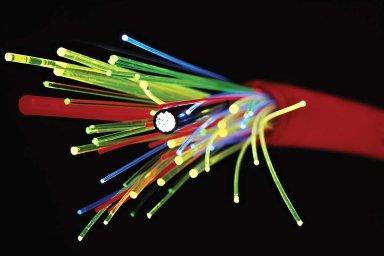 optický kabel, optická síť, ilustrační foto