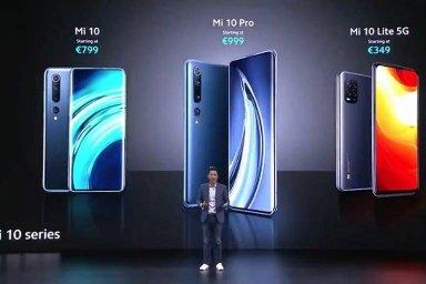 Xiaomi v pátek 27. března oficiálně uvedlo na evropský trh modely Xiaomi Mi 10 a Mi 10 Pro, které se v Číně představily už před měsícem.