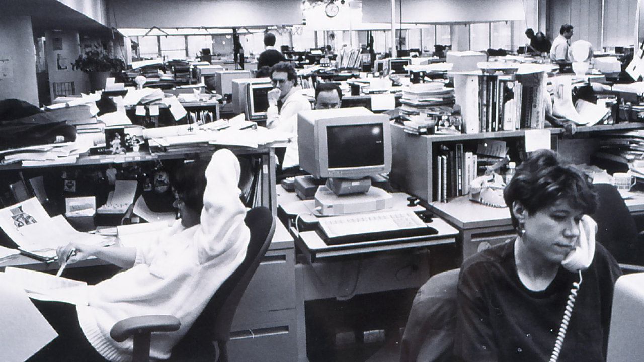 Newsroom The Register, USA, 1993.