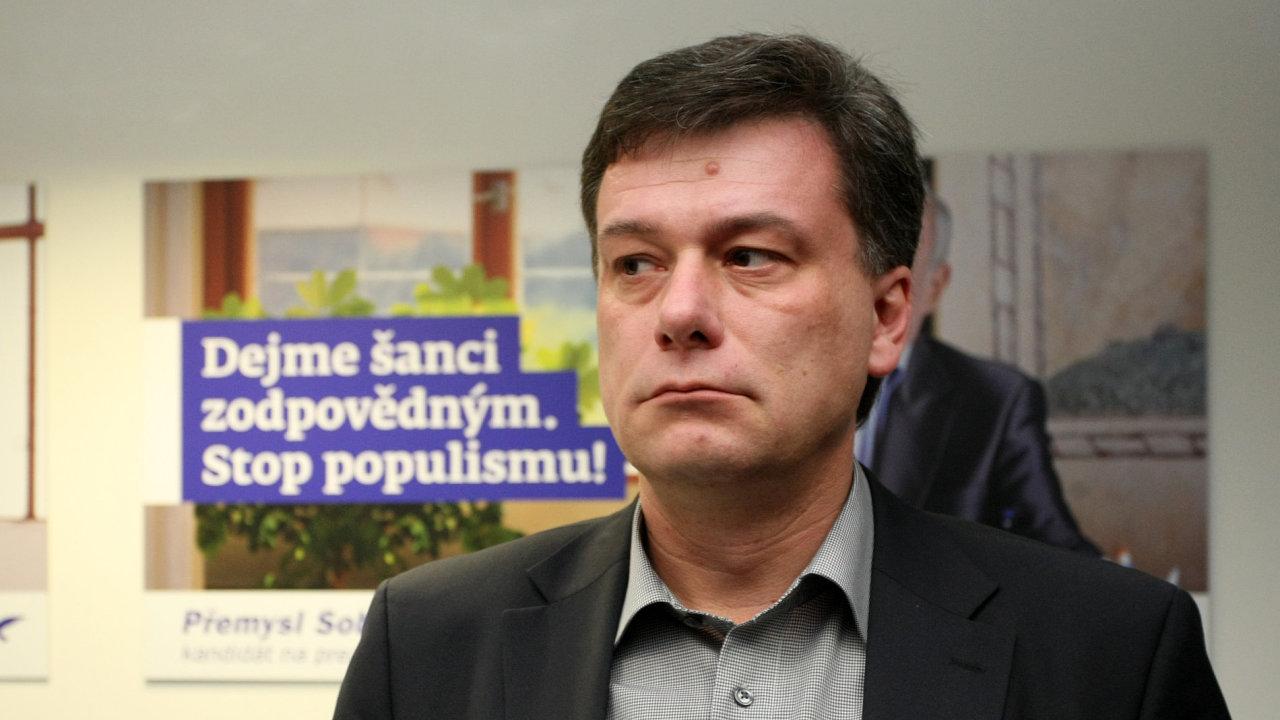 Pavel Blažek, místopředseda ODS a ministr spravedlnosti