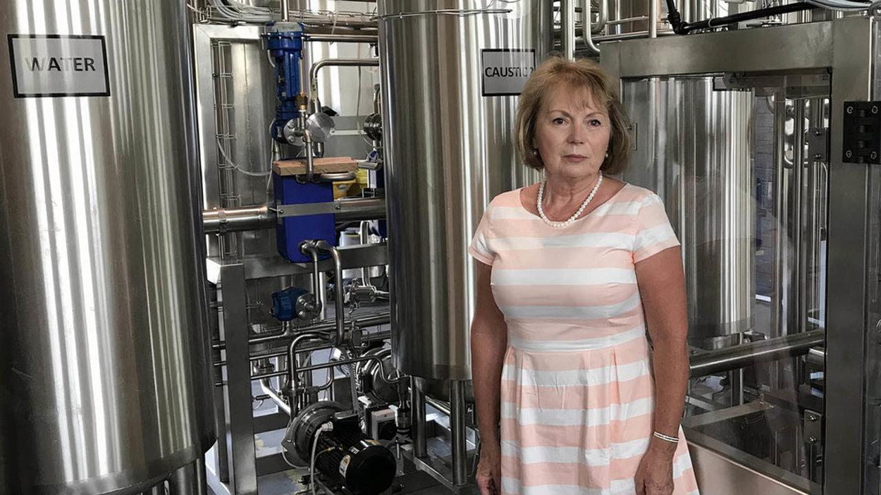Cesta kJižní Americe: Ředitelka Cheopsu Jana Kopecká si myslí, že současná stomilionová zakázka pro brazilský pivovar otevře firmě dveře natrh vLatinské Americe.