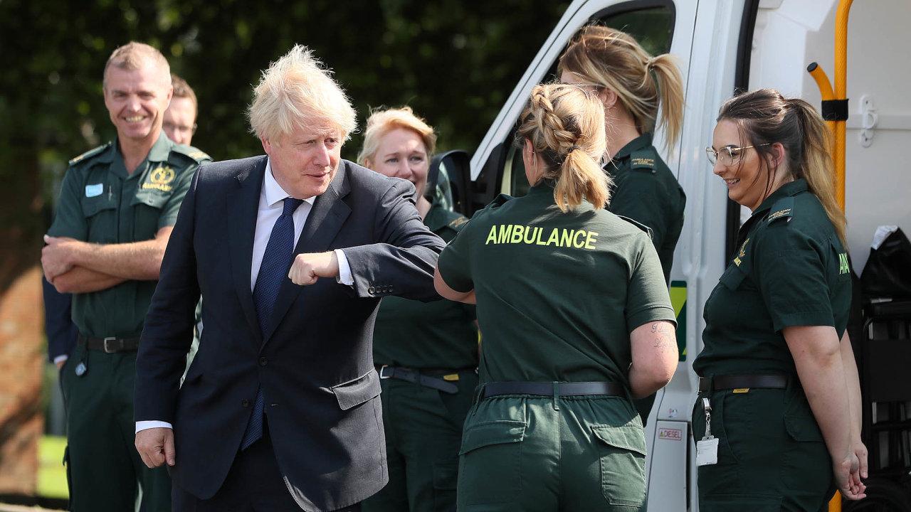 Co teď svoliči: Premiér Boris Johnson sázel nabrexit, ten už ale Brity zdaleka tolik nezajímá.