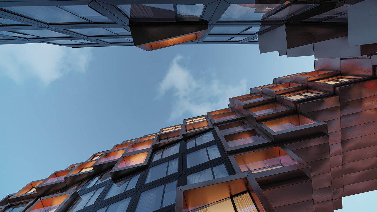 Stavba bytového domu vKarlíně odumělce Černého začala.