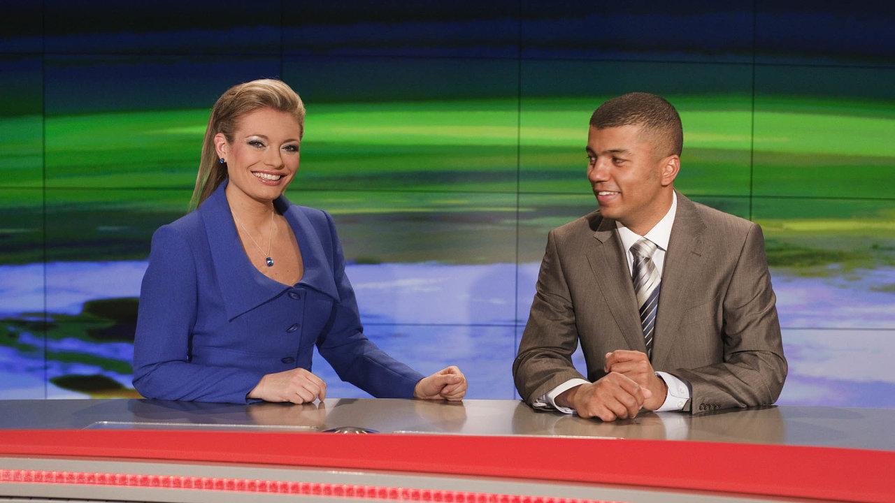 Lucie Borhyová aRay Koranteng byli moderátorskými superstars Novy v éře Vladimíra Železného, po prvním převzetí zestrany PPF i v době, kdy nejsledovanější českou televizi vlastnila CME.