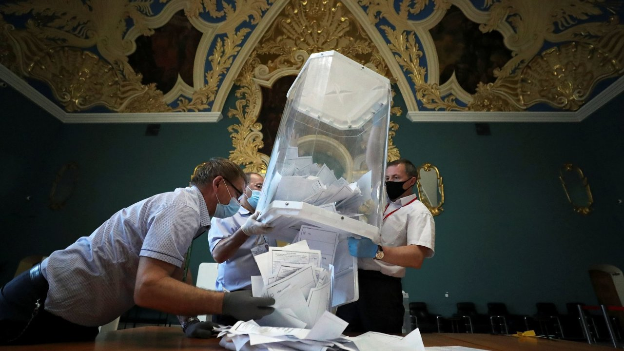 Svátek demokracie v Rusku.