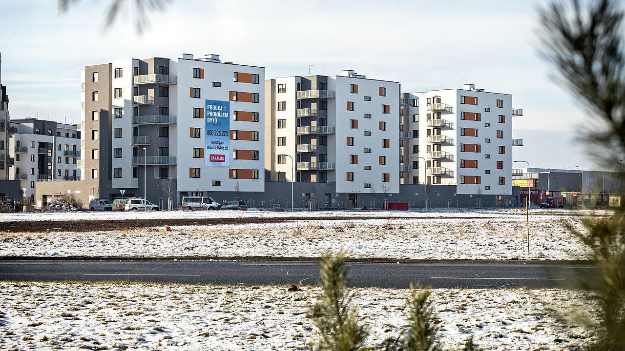 Byty v plzeňském projektu Unicity přejdou pod nového vlastníka.