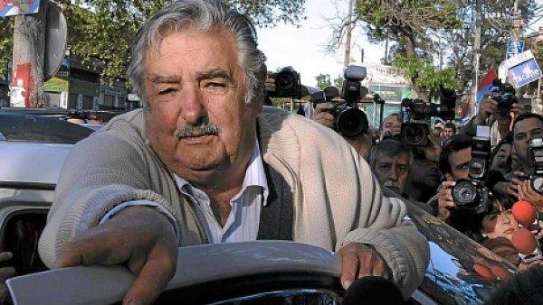 """José Mujica, bývalý bojovník levicové gerily, podle mnohých """"dostal Uruguay na mapu""""."""
