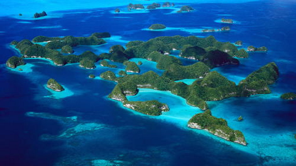 Jižní laguna Rock Islands, Palau