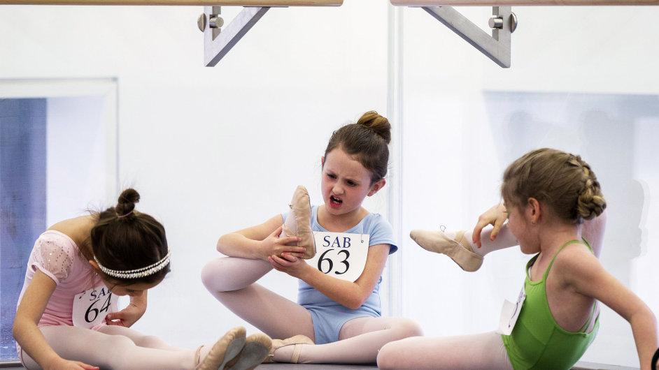 Baletní škola, New York
