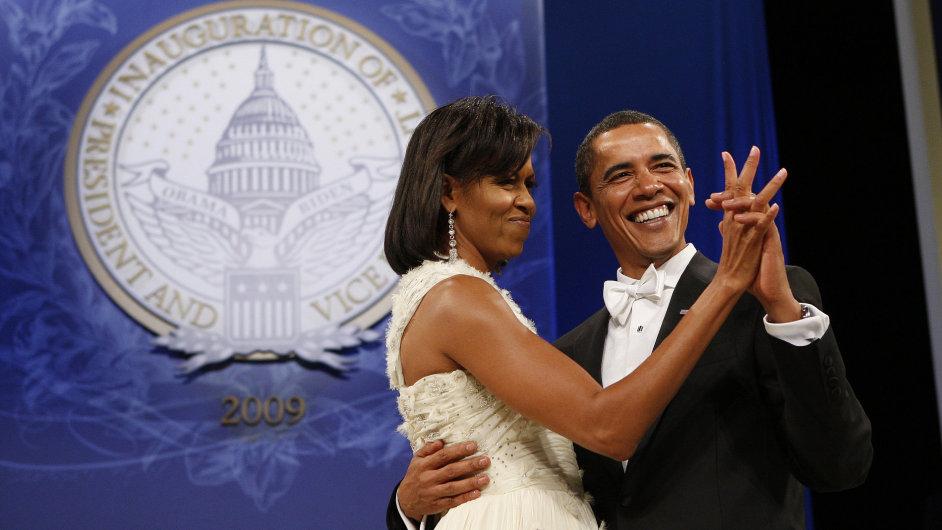 Barack Obama a jeho manželka Michelle