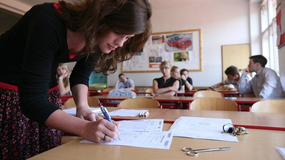 Státní maturita - Ilustrační foto.