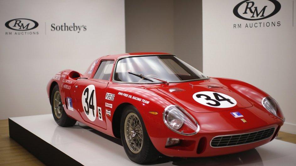 Aukční síň Sotheby's vydražila vůz Ferrari 250 za rekordních 14 milionů dolarů