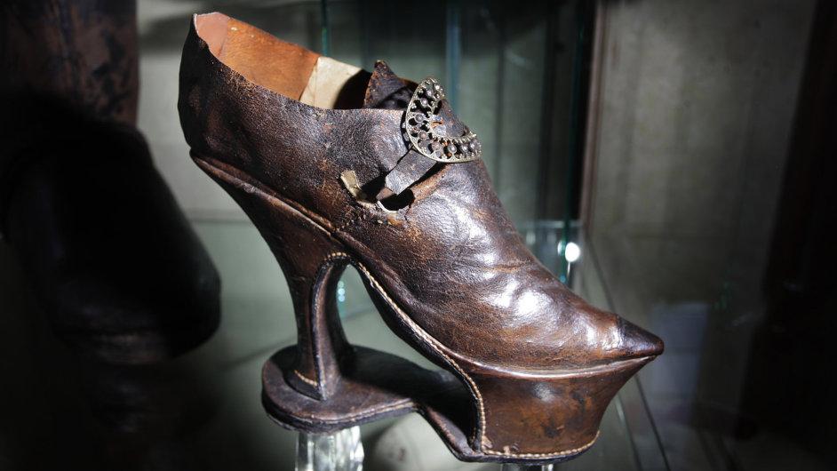 Boty na podpatku - Ilustrační foto