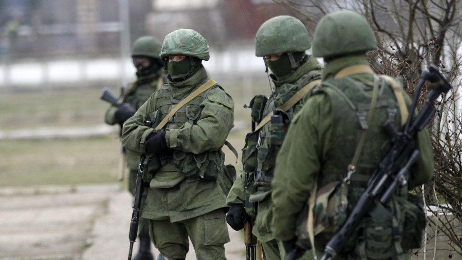 Rusko ovládá Krym