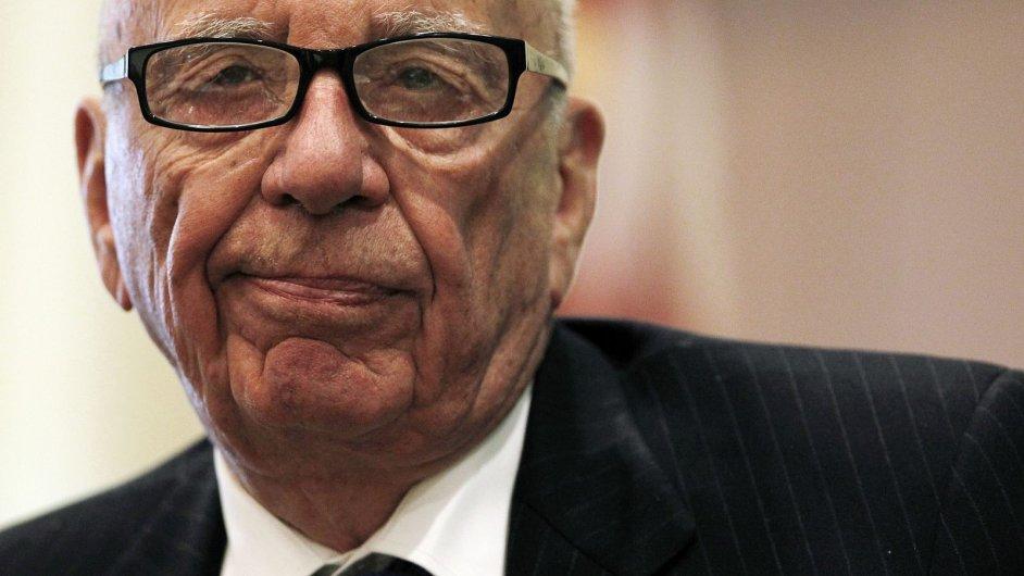 Rupert Murdoch vzdal převzetí Time Warner.