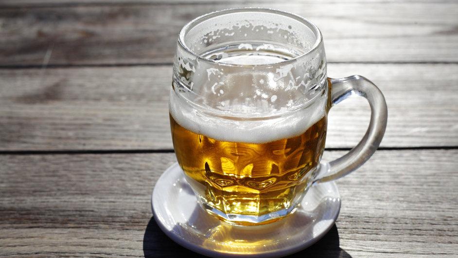 Točené pivo - Ilustrační foto.