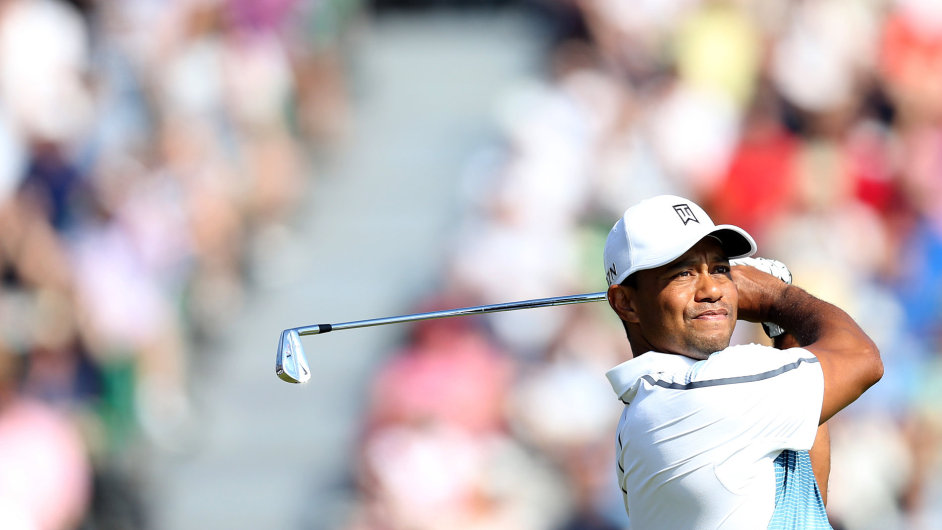 Tiger Woods na British Open 2014