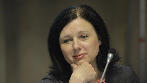 Kandidátka na eurokomisařku Věra Jourová