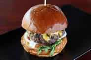 Burger ��rliv� man�elka - ilustra�n� foto