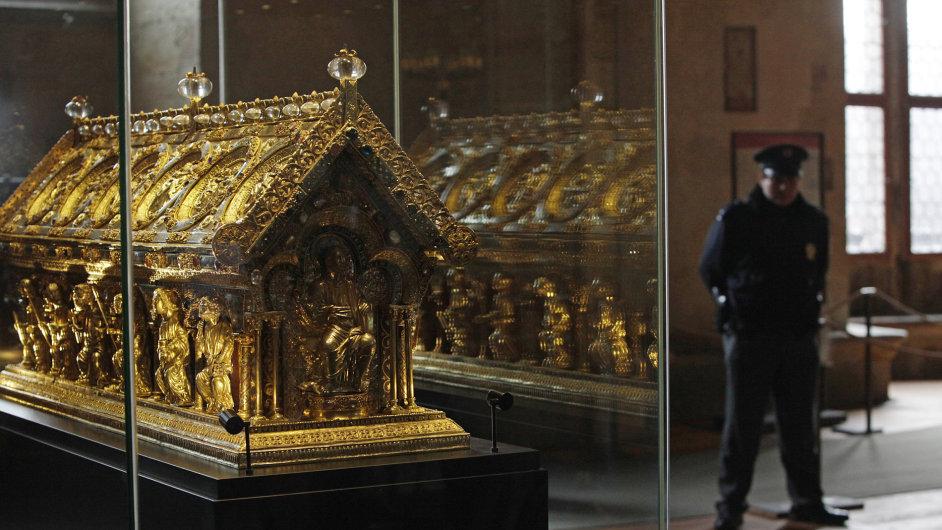 Relikvie sv. Maura patří k nejvýznamnějším památkám.
