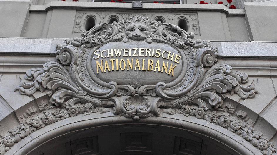 Silný frank způsobil Švýcarské centrální bance v prvním čtvrtletí rekordní ztrátu.