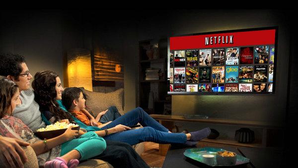 Videopůjčovna Netflix. Ilustrační foto