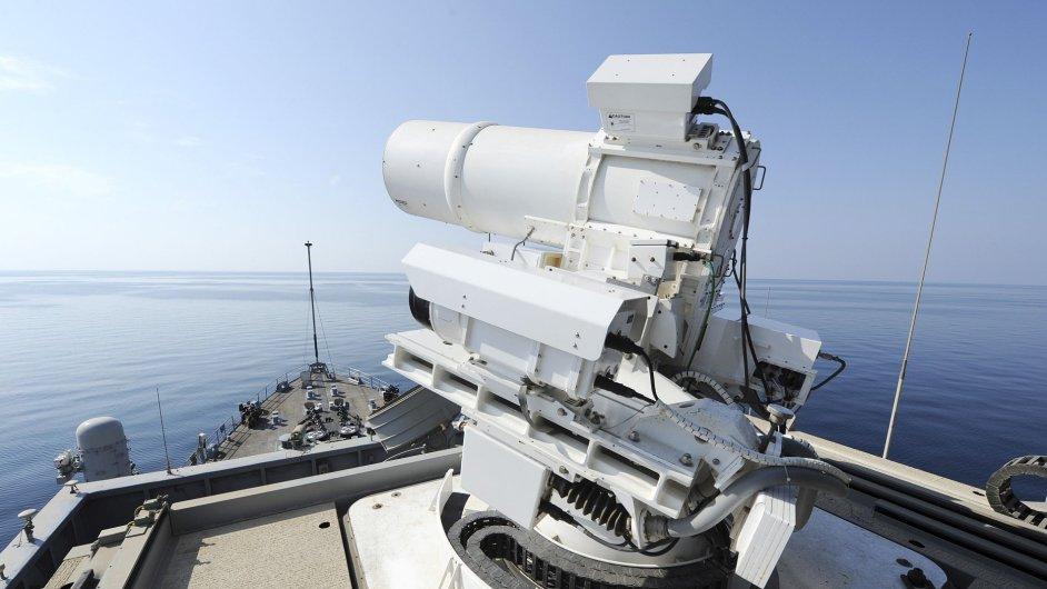 Laserové dělo americké armády
