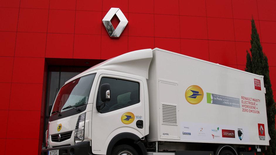 Francouzská La Post bude testovat elektromobil s palivovým článkem od Renault Trucks