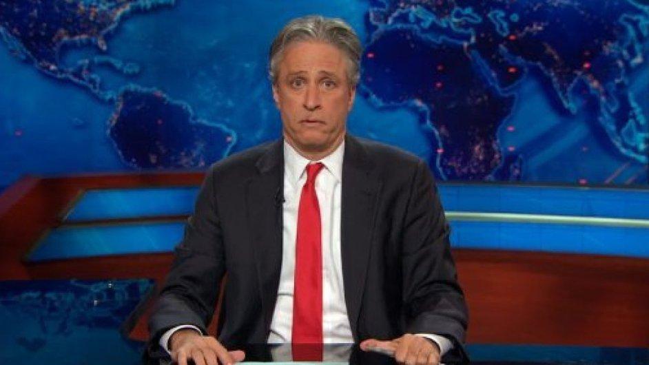 Zprávy jako tu o výměně v The Daily Show se proto vyplatí sledovat.
