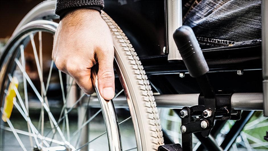 Invalidní vozík - Ilustrační foto.