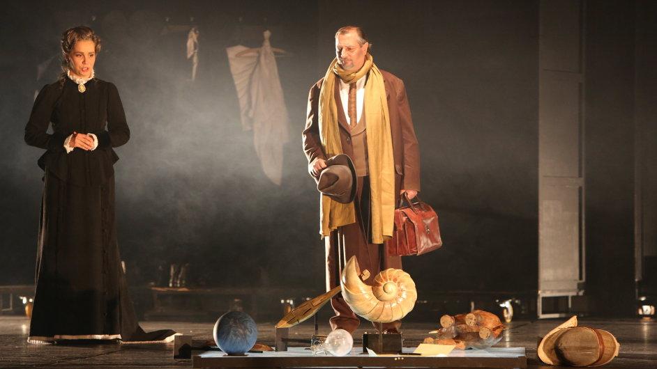 Snímky z opery Dorian Gray