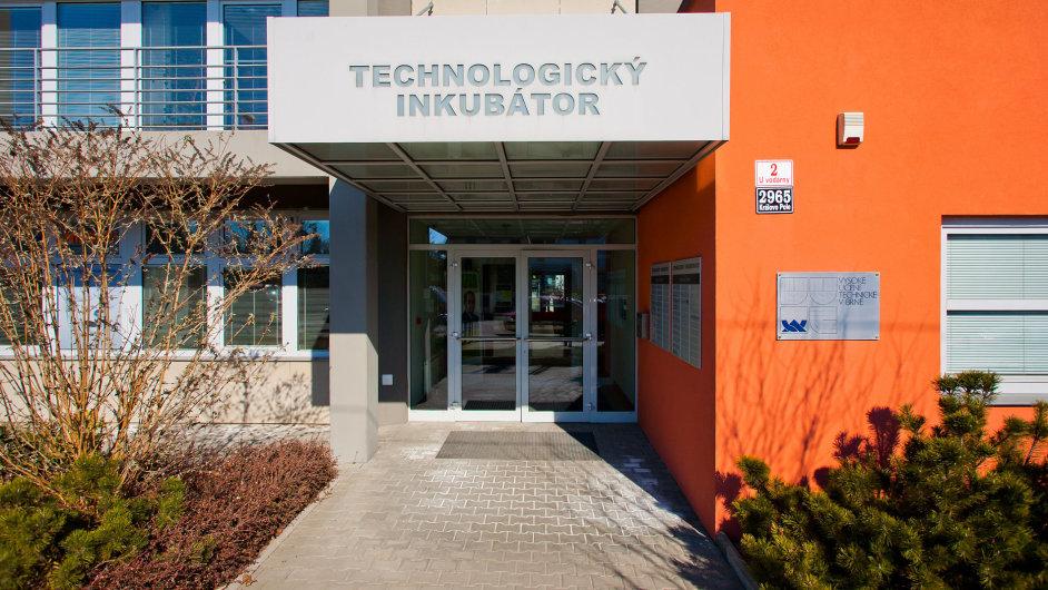 Budova technologického inkubátoru v areálu VUT v Brně.