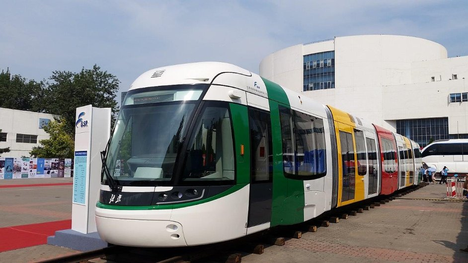 Společnost Škoda Electric se podílí na vývoji a výrobě nové tramvaje pro čínský Peking.