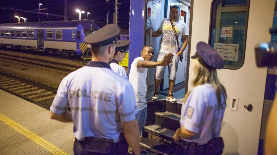 Břeclav / uprchlíci