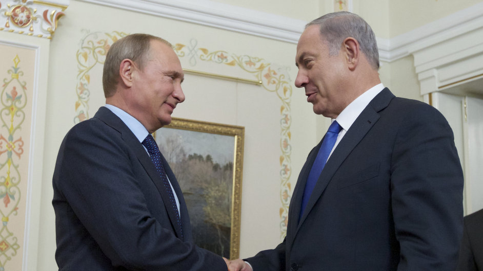 Ruský prezident Vladimir Putin se setkal s izraelským premiérem Benjaminem Netanjahuem.