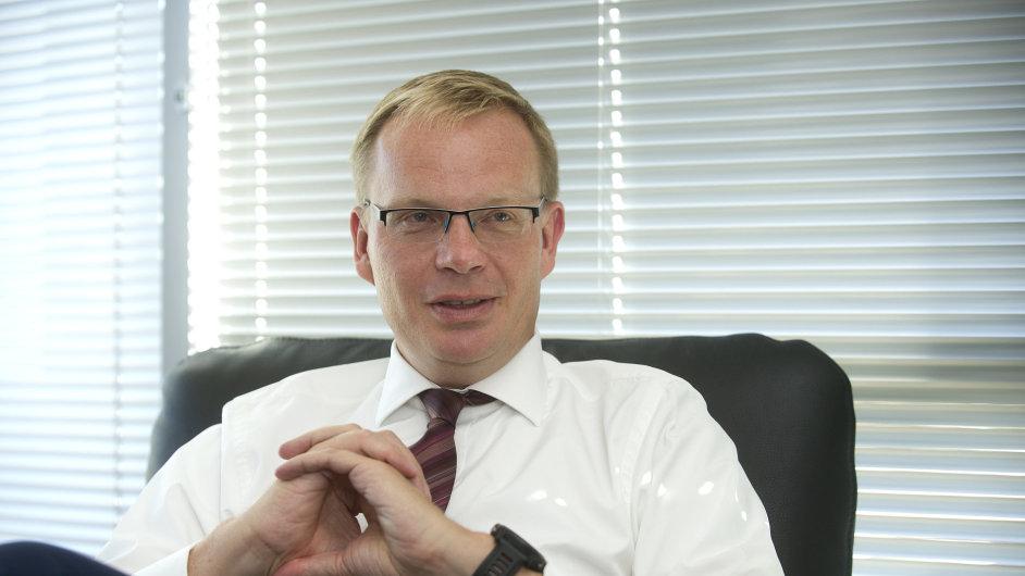 Michal Nebeský, generální ředitel české Citibank